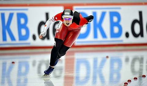 Christine Nesbitt, Canada, Essent ISU World Speedskating Championships 2011, Inzell Skating Stadium, Upper Bavaria, Germany, Europe