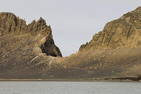 Telephone Bay, Deception Island, South Shetland Islands, Antarctica