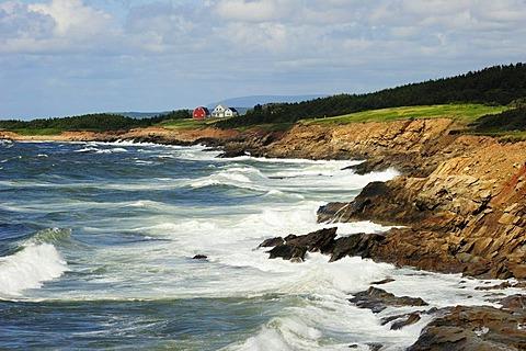East coast of Cape Breton, Nova Scotia, Canada, North America