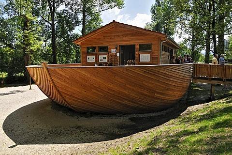 The Ark, Country Garden Exhibition in Rosenheim, Bavaria, Germany, Europe