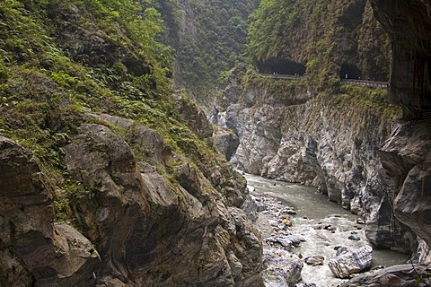 Taroko Gorge National Park near Hualien, Taiwan, China, Asia