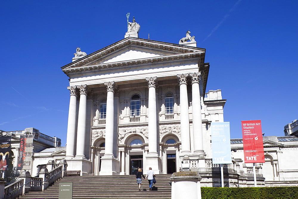 Tate Britain Museum, London, England, United Kingdom, Europe
