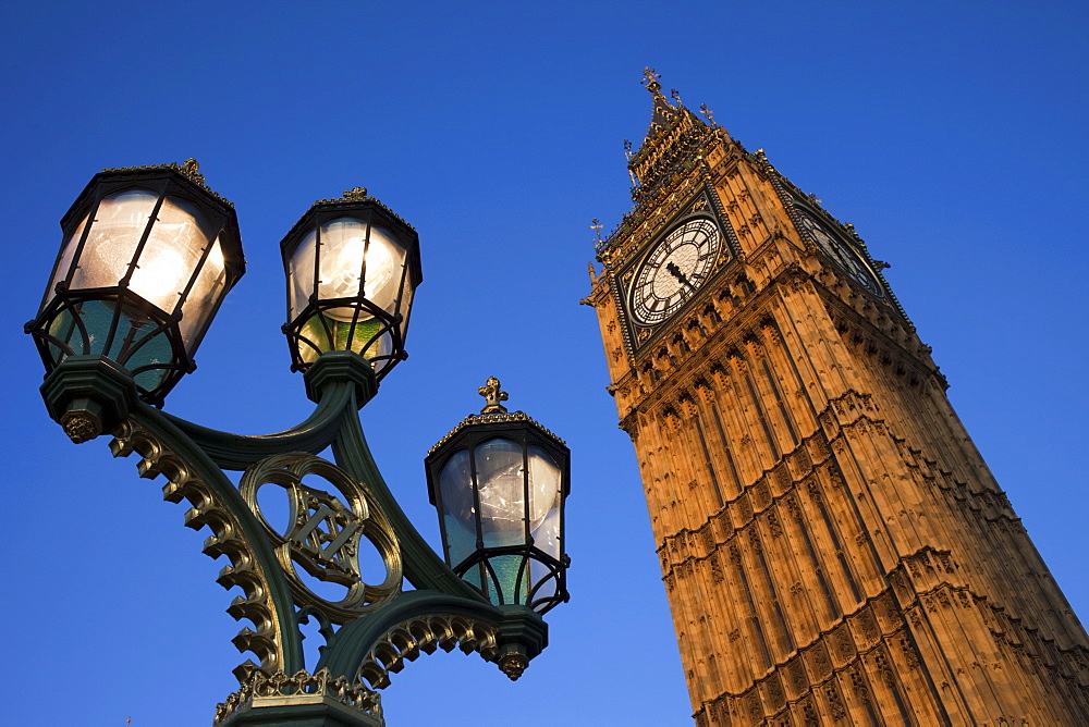 Big Ben, Houses of Parliament, London, England, United Kingdom, Europe