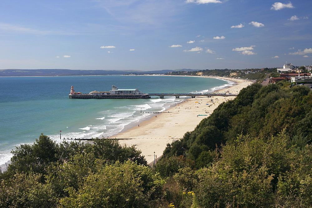 Bournemouth Pier, Bournemouth, Hampshire, England, United Kingdom, Europe