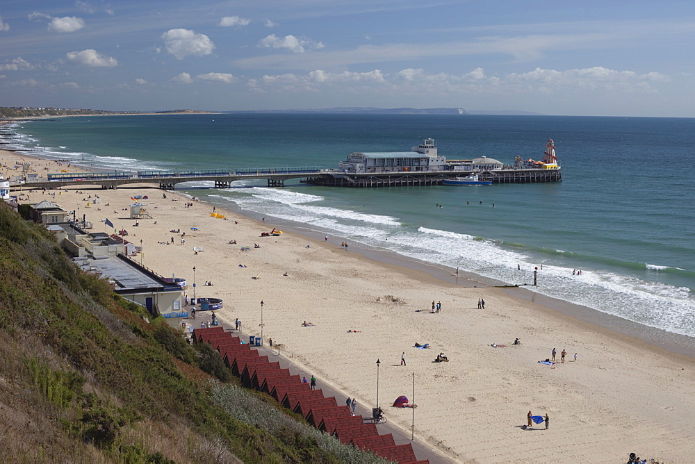 Bournemouth Pier, Bournemouth, Hampshire, England, United Kingdom, Europe