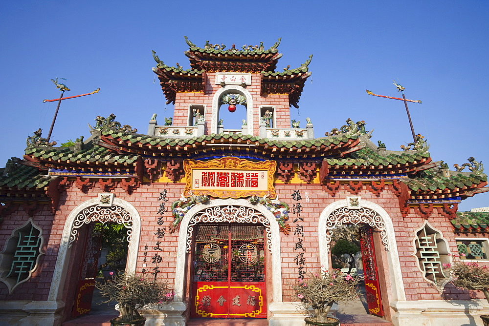 Assembly Hall of the Hainan Chinese Congregation, Hoi An, Vietnam, Indochina, Southeast Asia, Asia