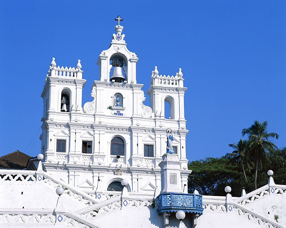 Church of Our Lady of the Immaculate Conception, UNESCO World Heritage Site, Panaji, Goa, India, Asia