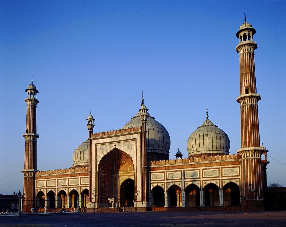 Friday Mosque (Jama Masjid), Delhi, India, Asia