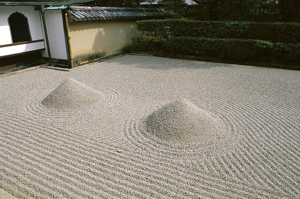 The Great Ocean Rock, Daisen-in Zen Garden, Daitokuji Temple, Kyoto, Honshu, Japan, Asia - 834-2639