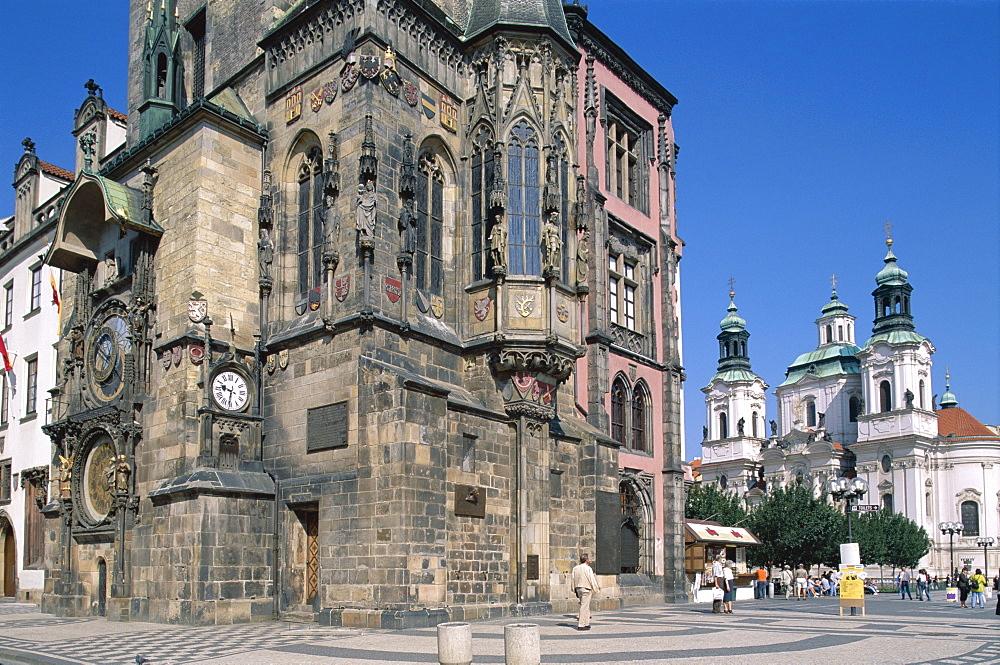 Old Town Hall, Old Town Square (Staromestske namesti), Prague, UNESCO World Heritage Site, Czech Republic, Europe
