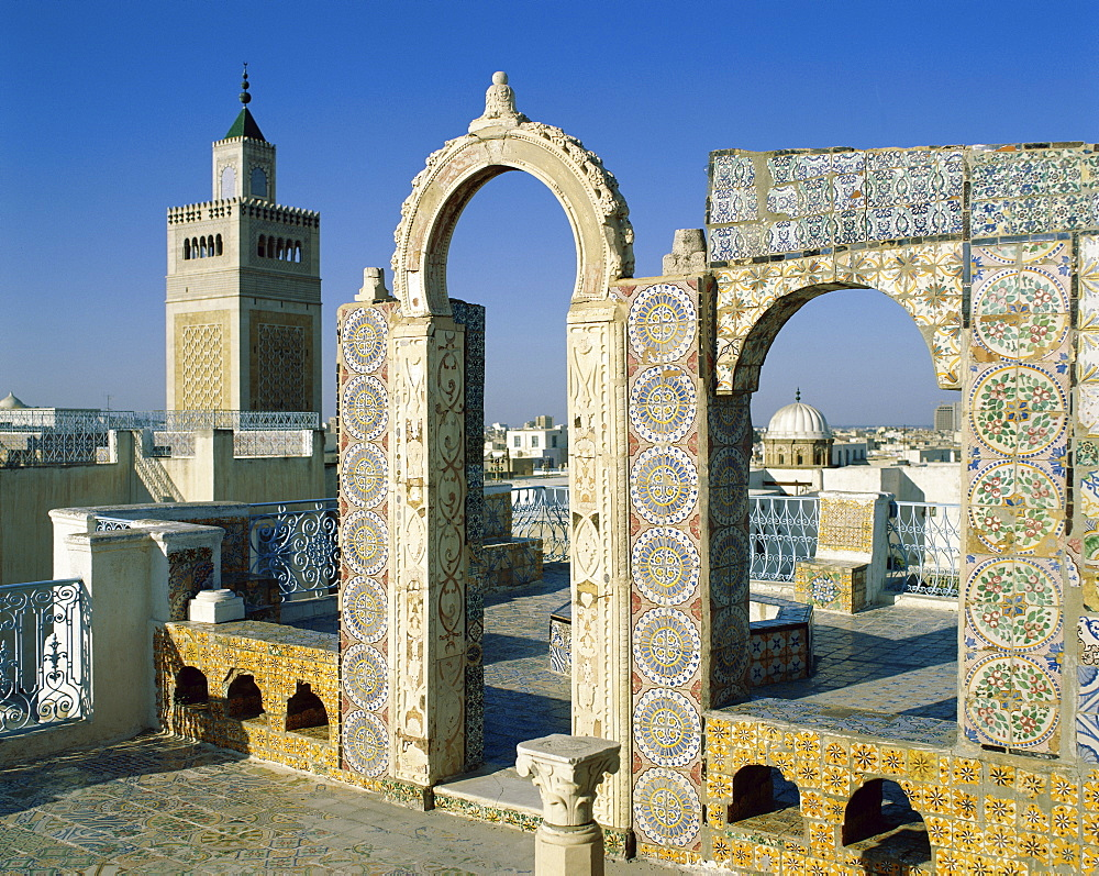 Medina roofs, UNESCO World Heritage Site, Tunis, Tunisia, North Africa, Africa