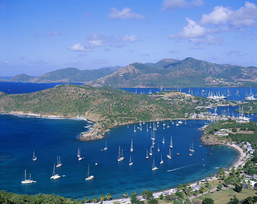 English Harbour, Antigua, West Indies, Caribbean, Central America