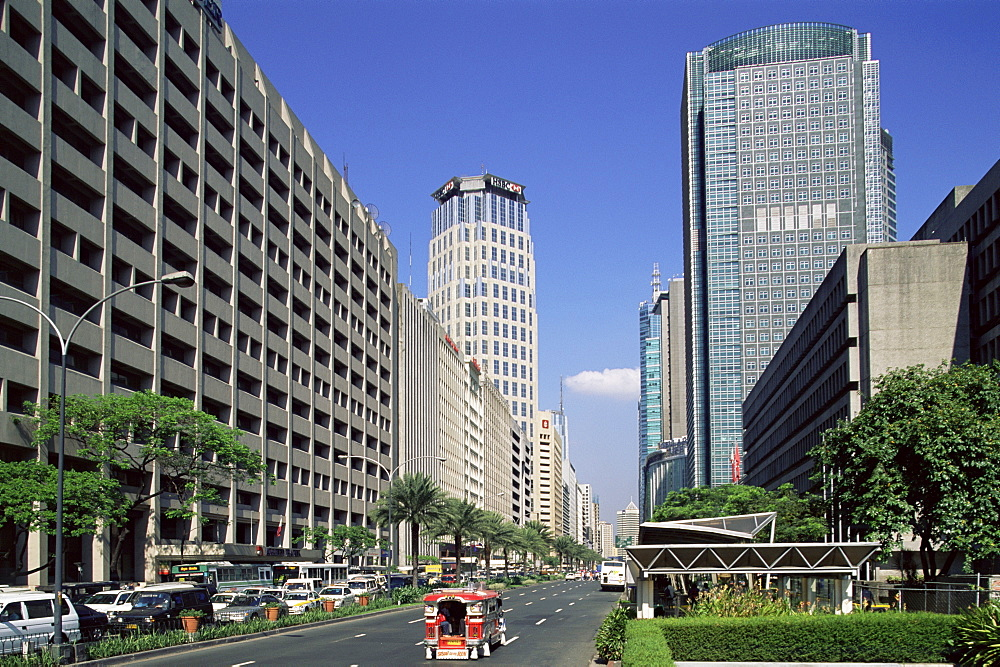 Makati Business District, Manila, Philippines, Southeast Asia, Asia