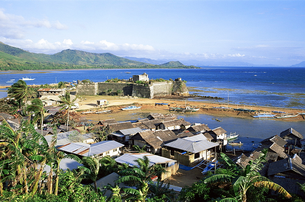 The Spanish Fort, Tay Tay, Palawan, Philippines, Southeast Asia, Asia