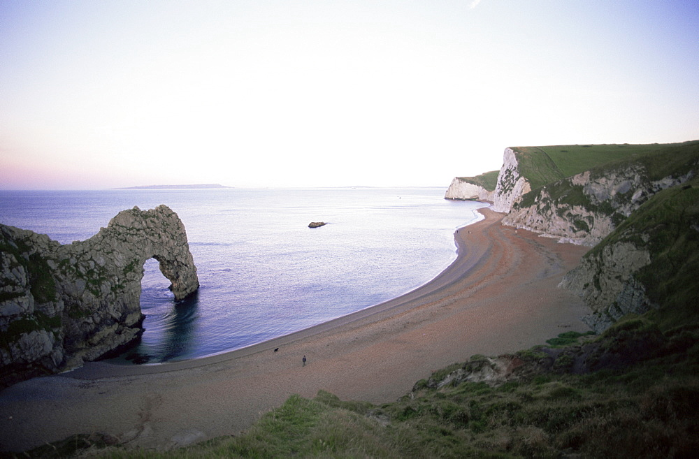 Durdle Door Beach, Jurassic Coast, UNESCO World Heritage Site, Dorset, England, United Kingdom, Europe