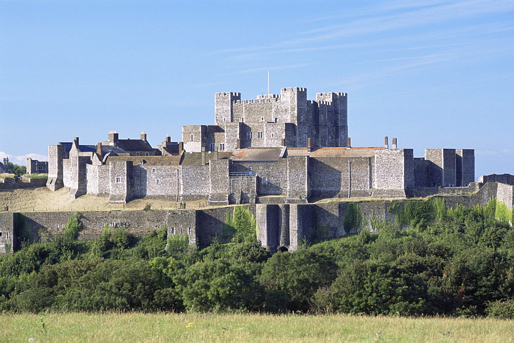 Dover Castle, Dover, Kent, England, United Kingdom, Europe