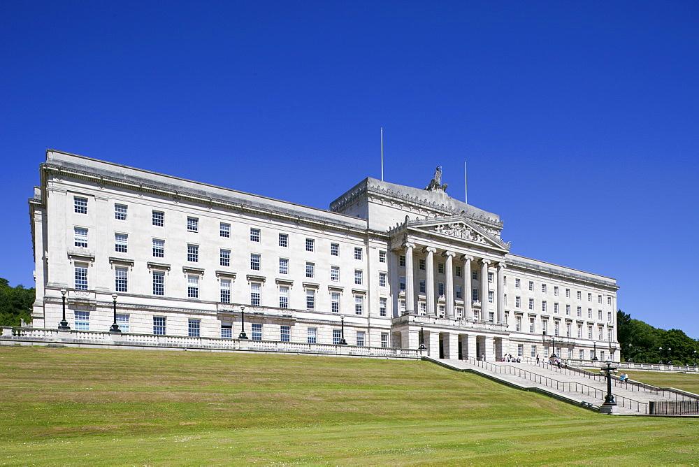 Stormont Castle, Belfast, Ulster, Northern Ireland, United Kingdom, Europe