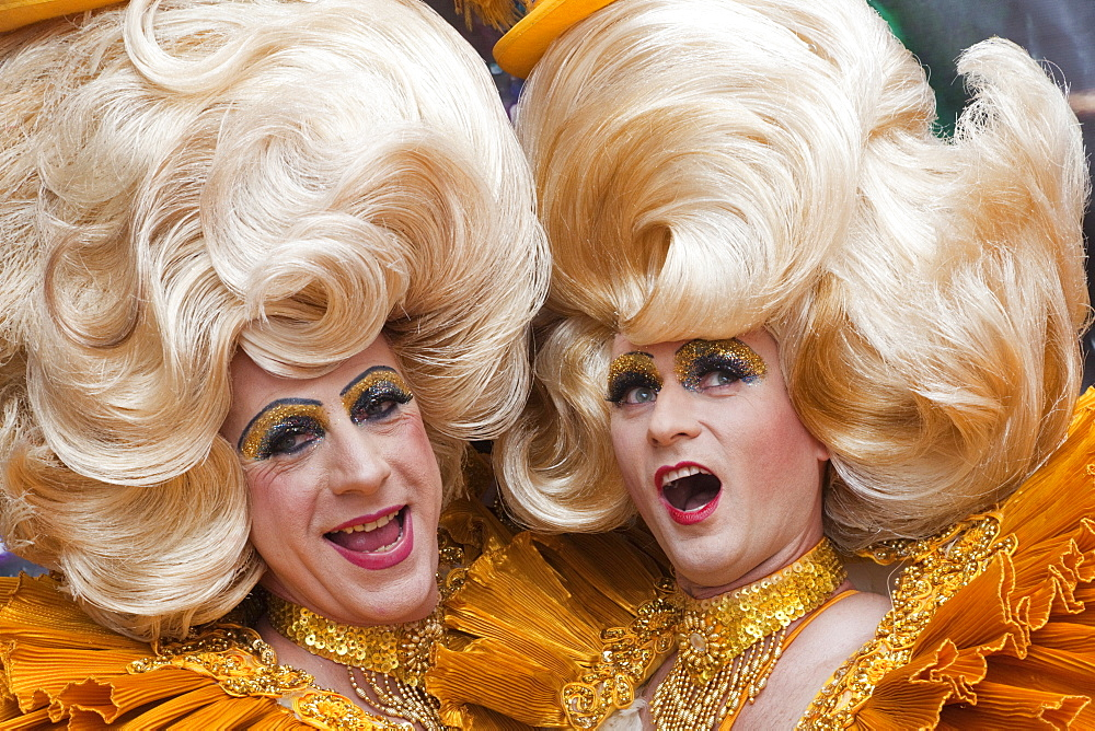 Drag queens, Gay Pride Festival, London, England, United Kingdom, Europe - 834-6283