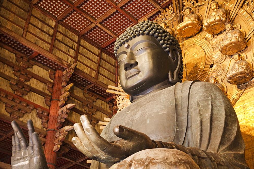 Statue of Buddha, Todaiji Temple, Nara, UNESCO World Heritage Site, Japan, Asia - 834-6560
