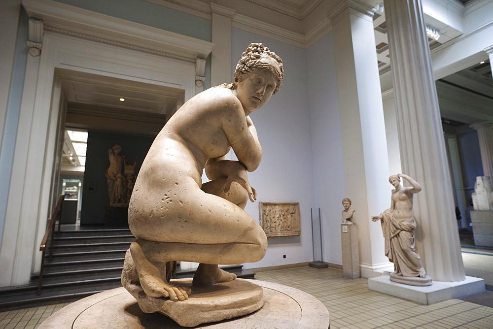 Lely's Venus sculpture 1st century AD, British Museum, Bloomsbury, London, England, United Kingdom, Europe