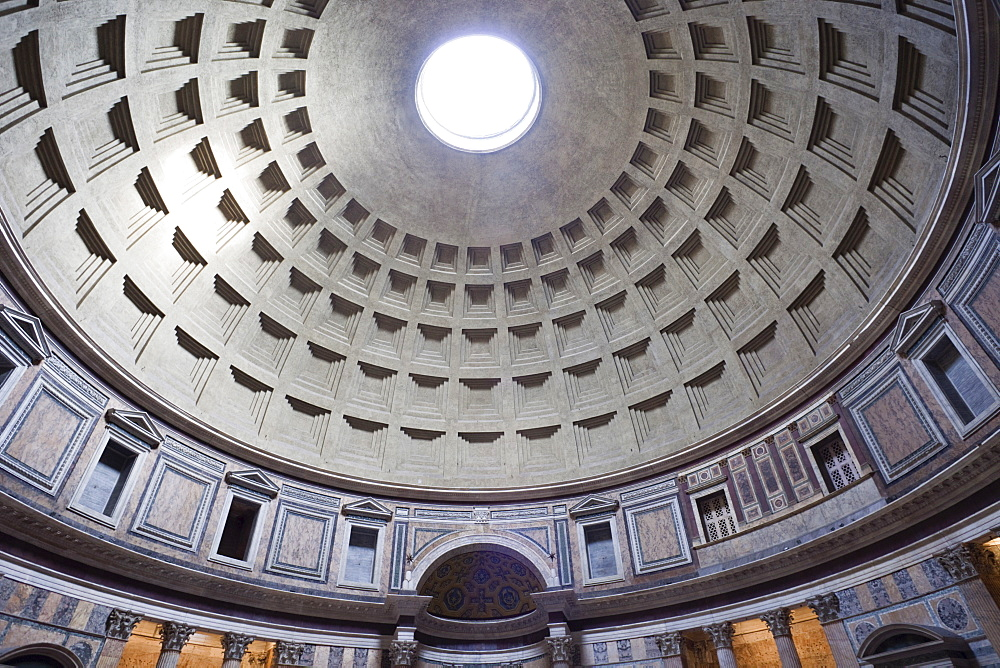 The Pantheon, UNESCO World Heritage Site, Rome, Lazio, Italy, Europe