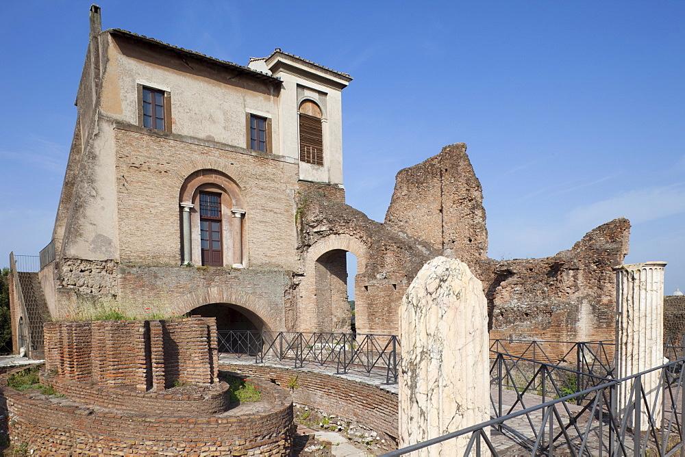 Domus Transitoria House, The Palatine, Rome, Lazio, Italy, Europe