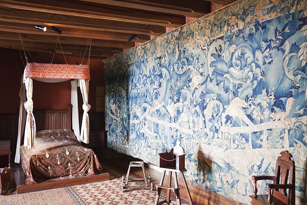The Children's Room, Langeais Castle, Loire Valley, France, Europe