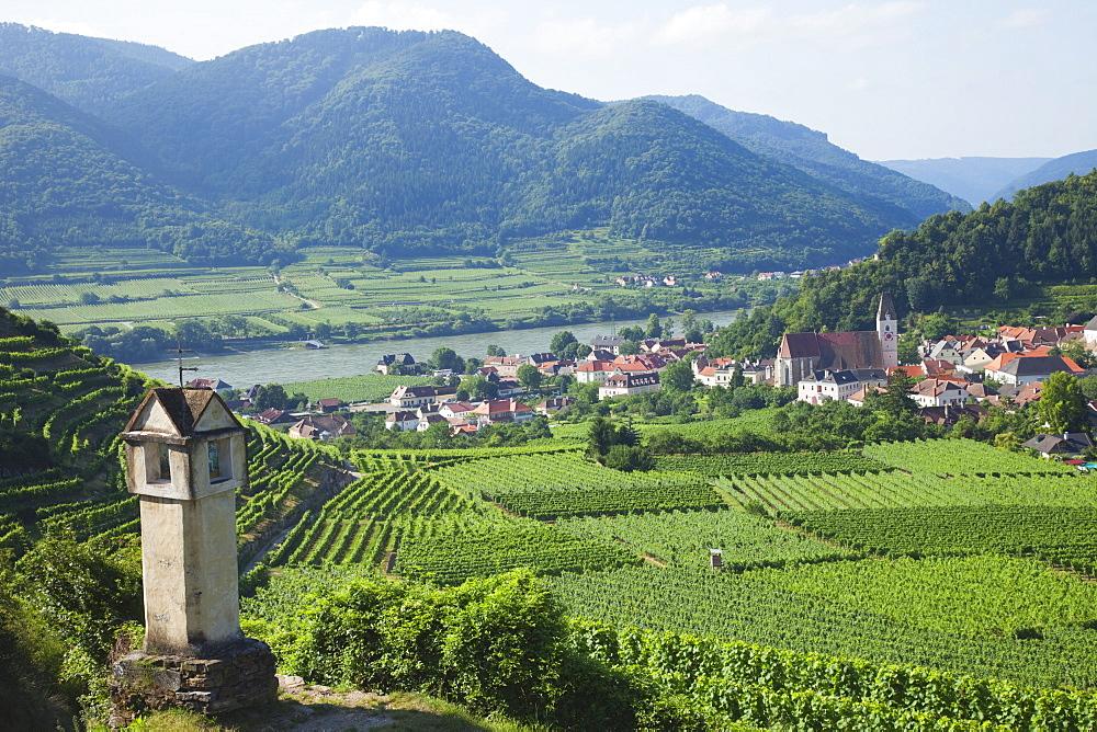 Spitz and Danube River, Wachau Cultural Landscape, UNESCO World Heritage Site, Austria, Europe