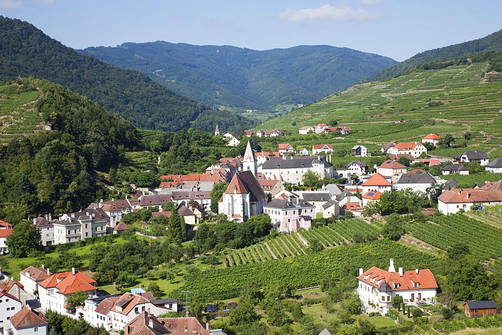 Spitz, Wachau Cultural Landscape, UNESCO World Heritage Site, Austria, Europe