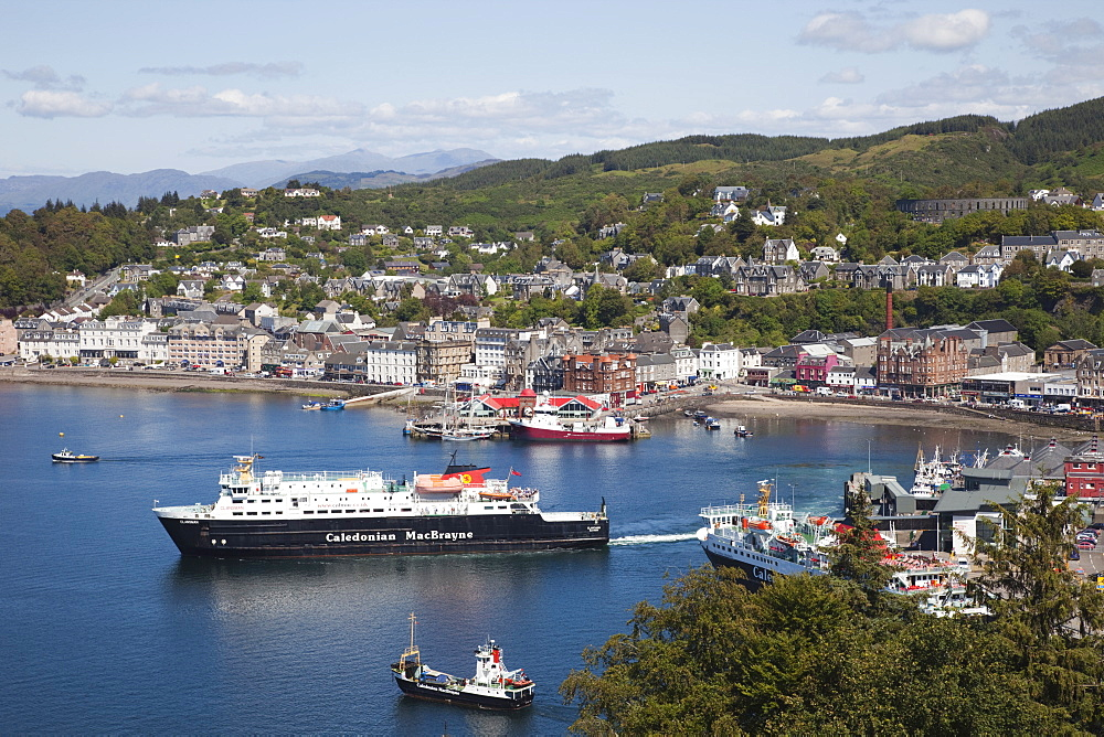 Oban, Argyll, Scotland, United Kingdom, Europe - 834-7187