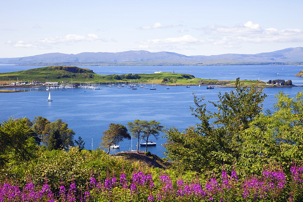 The Sound of Kerrera, Oban, Argyll, Scotland, United Kingdom, Europe - 834-7190
