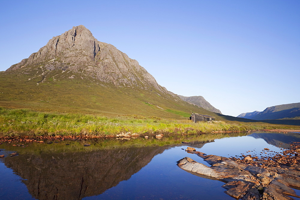 Buchaille Etive Mor, Glen Coe, Highlands, Scotland, United Kingdom, Europe - 834-7220