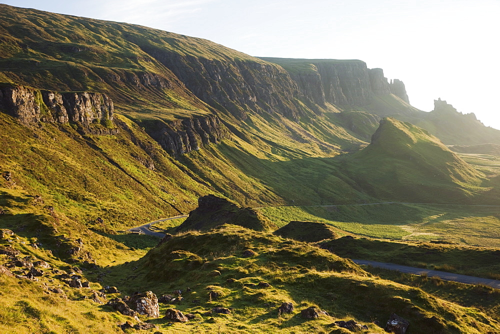 The Quiraing mountain, Isle of Skye, Inner Hebrides, Scotland, United Kingdom, Europe - 834-7236