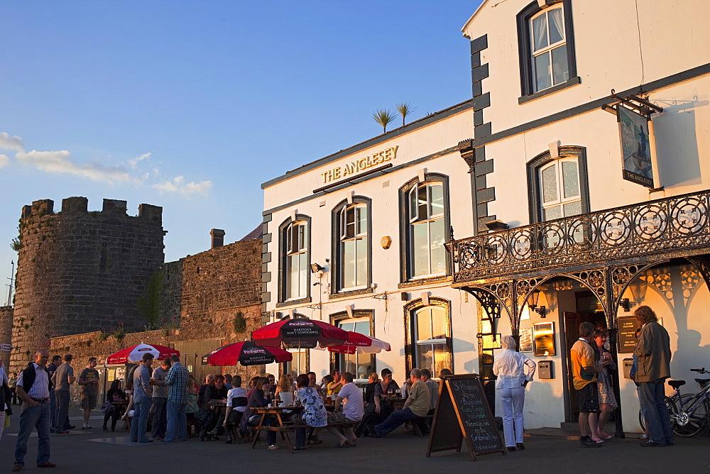 The Anglesey Pub, Caernarfon, Gwynedd, Wales, United Kingdom, Europe