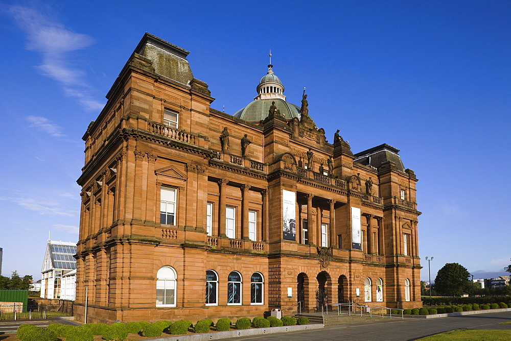 Peoples Palace and Winter Gardens Museum Building, Glasgow, Scotland, United Kingdom, Europe