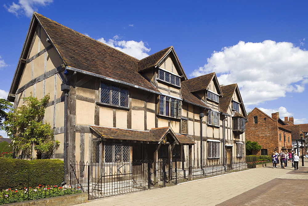 an analysis of william shakespeare born in stratford upon avon warwickshire c england