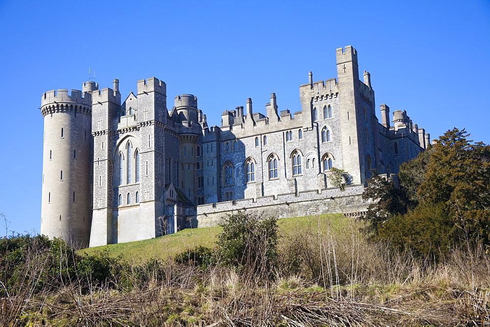 Arundel Castle, West Sussex, England, United Kingdom, Europe - 836-1