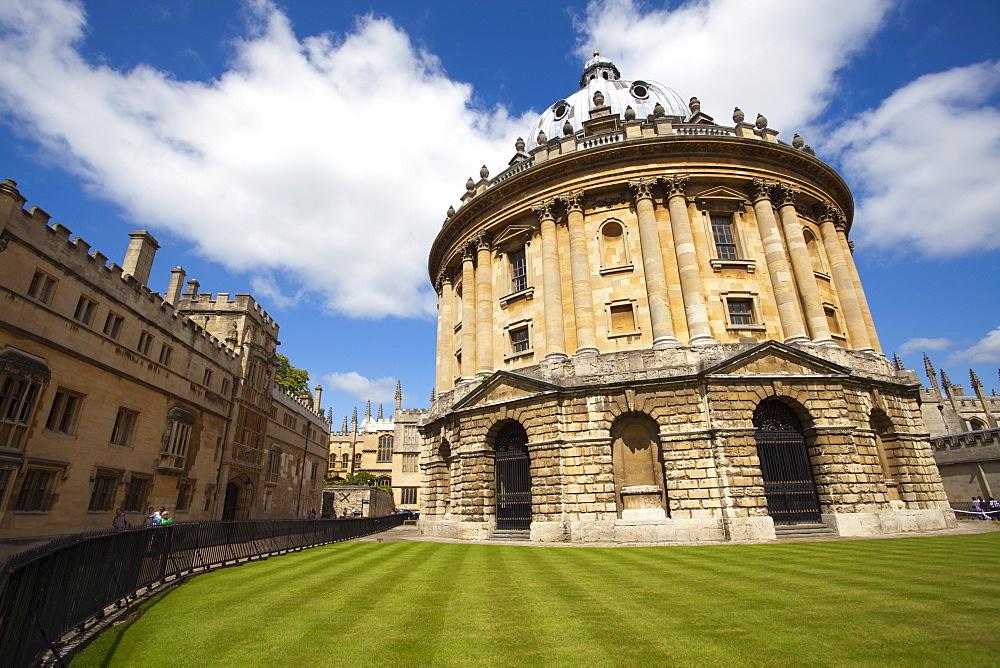 Radcliffe Camera, Oxford, Oxfordshire, England, United Kingdom, Europe - 836-19