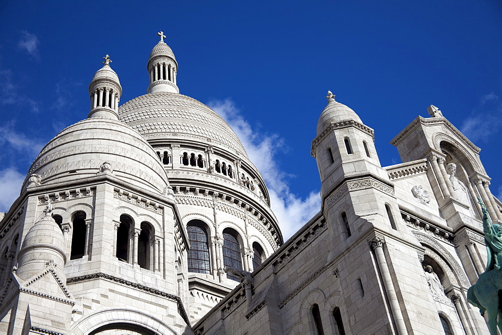 Basilica of Sacre-Coeur, Montmartre, Paris, France, Europe - 836-26