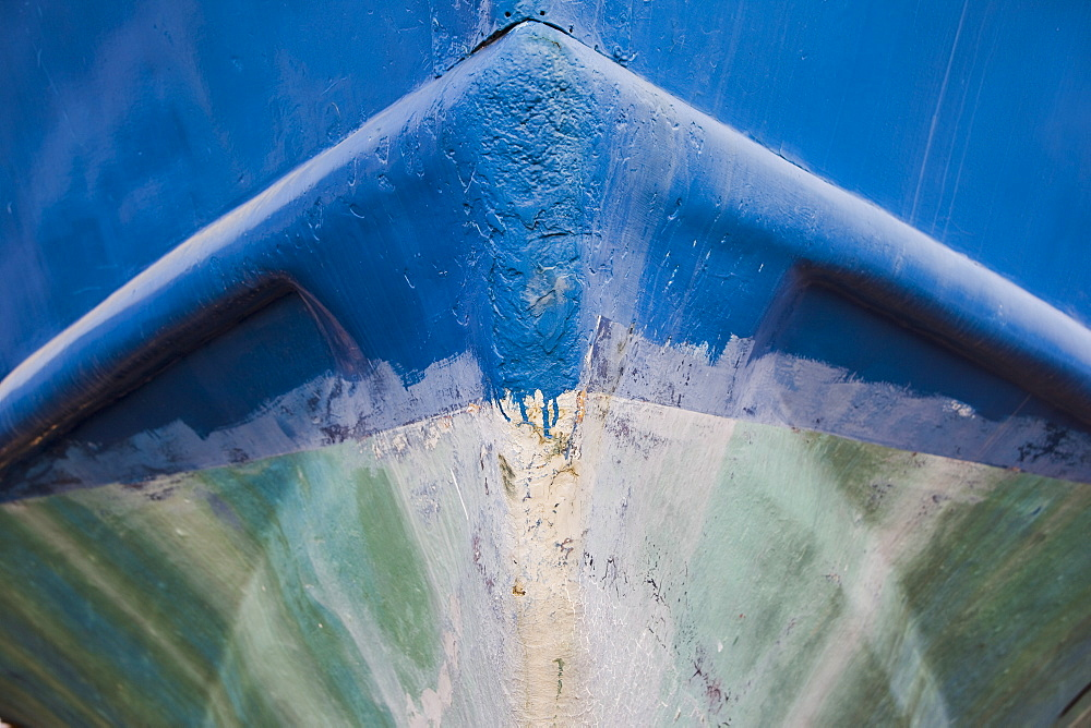 Abstract view of a boat in Cyprus, Cyprus - 837-1036