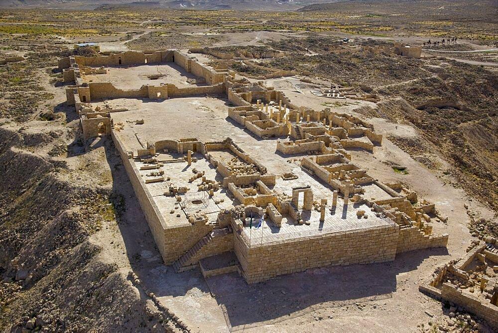 The archaeological site of Avdat in the Negev desert - 837-1090