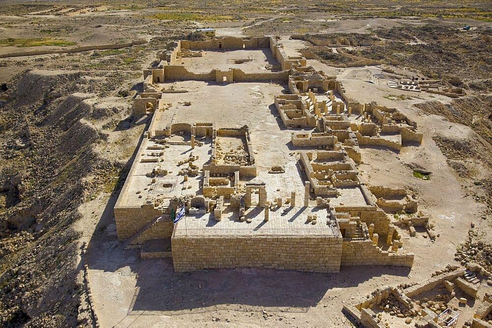 The archaeological site of Avdat in the Negev desert - 837-1091