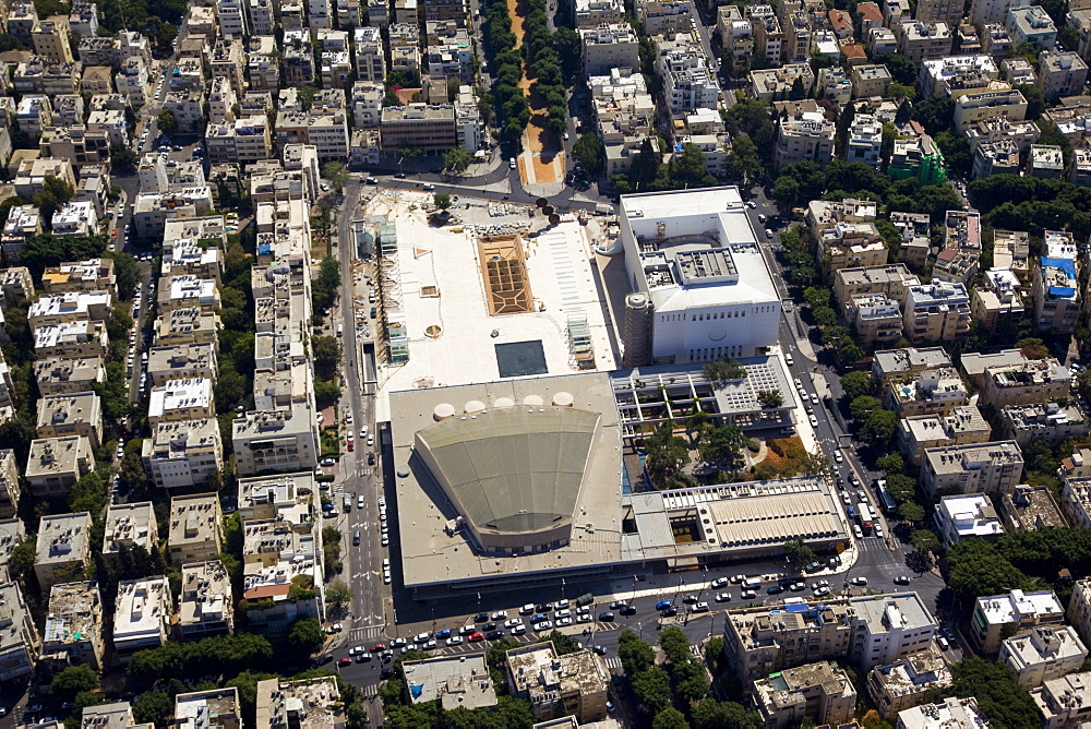 The Upgraded Habima theatre and concerts hall in Tel Aviv - 837-1107