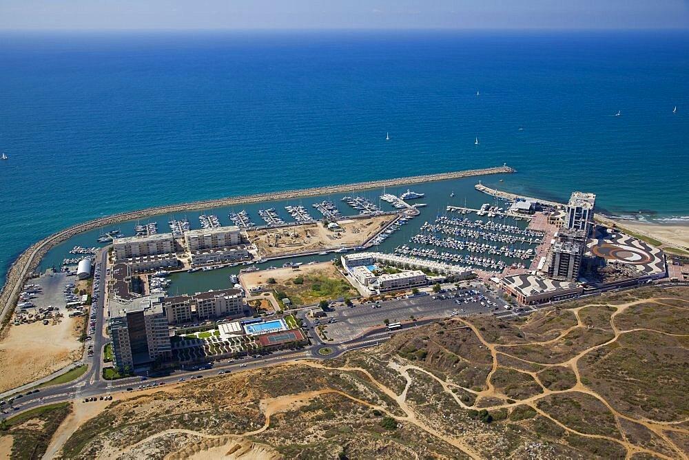 The Marina of Herzliya on the Coastal Plain - 837-1112