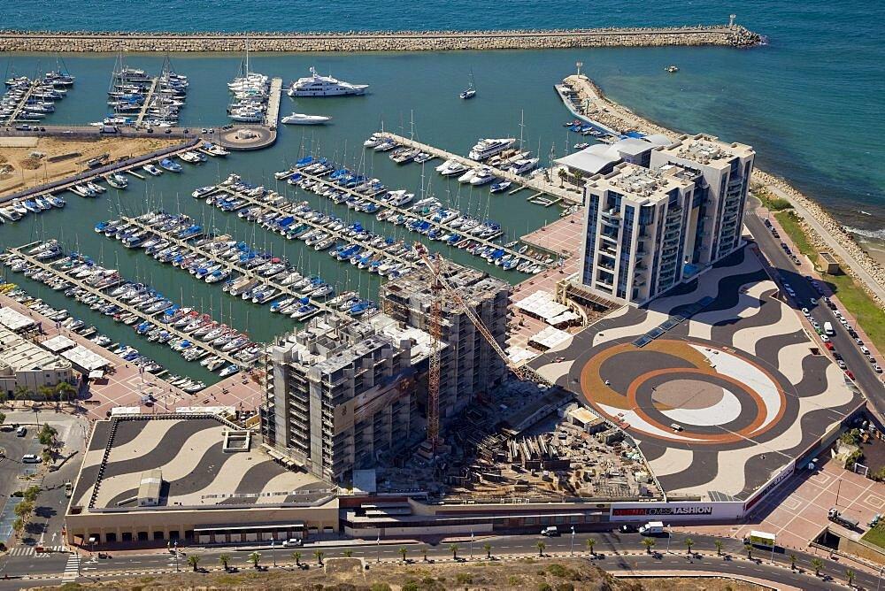 The Marina of Herzliya on the Coastal Plain - 837-1113