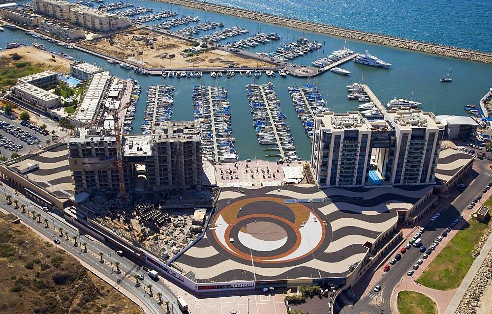 The Marina of Herzliya on the Coastal Plain - 837-1114