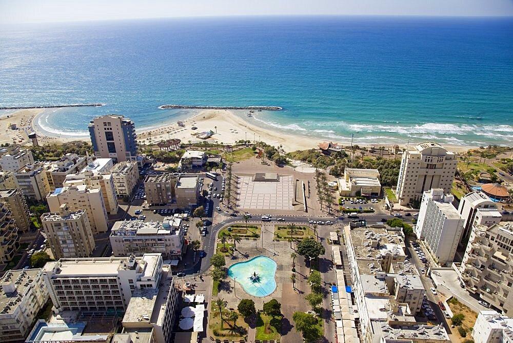 The city of Netanya on the Coastal Plain - 837-1123