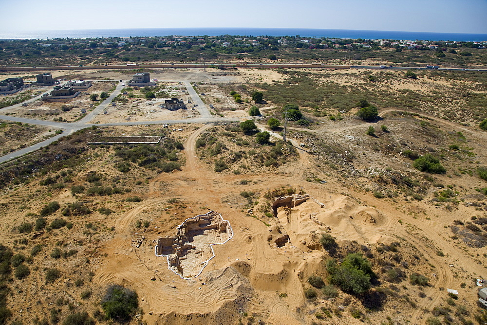 An archaeological excavation near the modern city of Or Akiva on the Coastal Plain - 837-1128