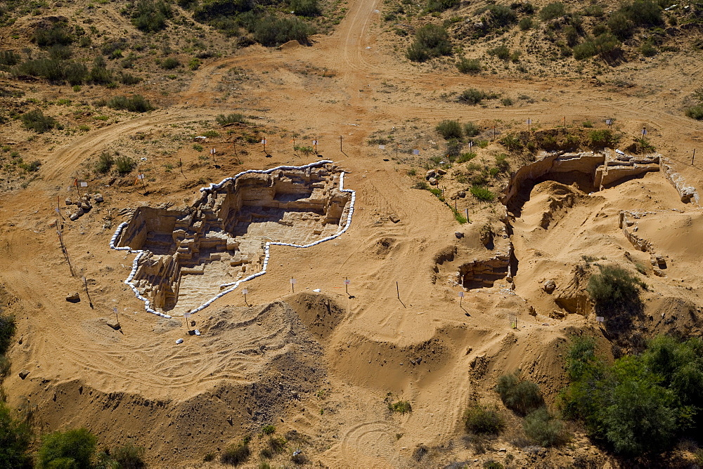 An archaeological excavation near the modern city of Or Akiva on the Coastal Plain - 837-1129