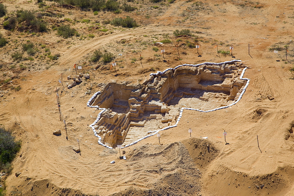 An archaeological excavation near the modern city of Or Akiva on the Coastal Plain - 837-1130